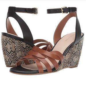 BNIB Cole Haan wedge sandals